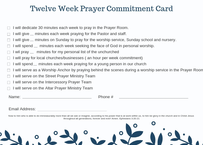 Free Prayer Resources and Literature– Prayer Point Press